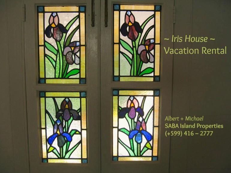Iris House Vacation Rental Saba