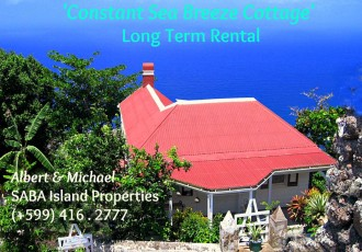 Constant Sea Breeze Cottage Saba Rental