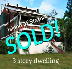 Statia Compound Sold - Albert & Michael - Saba Island Properties 416 2777