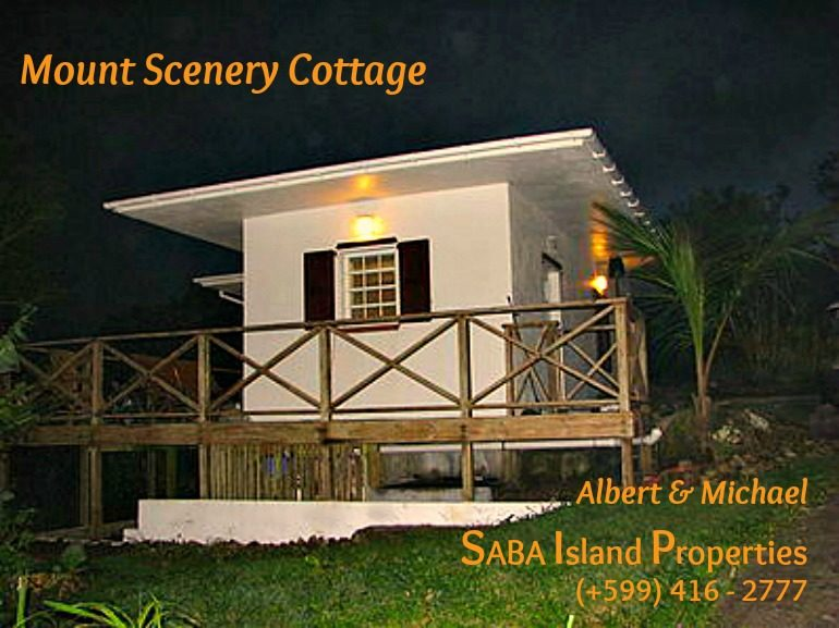 Mount Scenery Cottage Saba