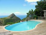 Haiku House Pool and View Saba Island Properties Albert & Michael 416 2777