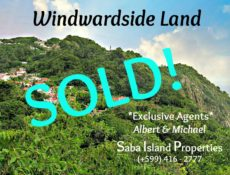 Windwardside Land Sold - Albert & Michael - Saba Island Properties