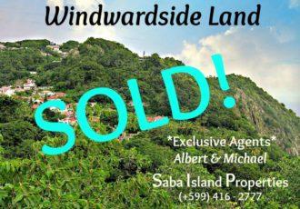 Windwardside Land Sold - Albert & Michael - Saba Island Properties
