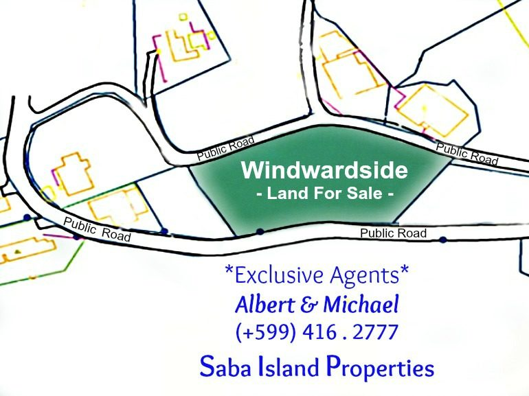 Windwardside Land For Sale Albert & Michael