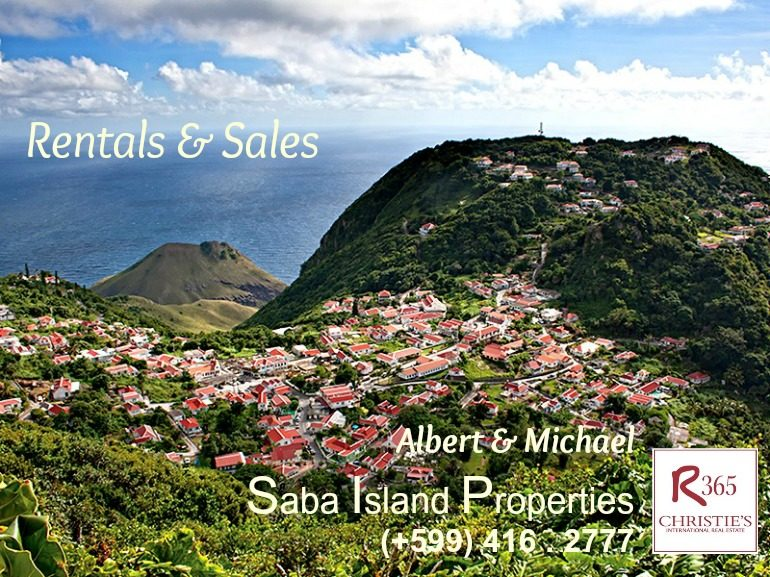 Our Gratitude for Property Sales on Saba Dutch Caribbean Albert + Michael
