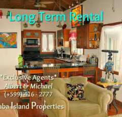 Dushi Cottage - Long Term Rental - Albert & Michael - Saba IslandProperties