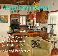 Dushi Cottage - Long Term Rental - Albert & Michael - Saba IslandProperties
