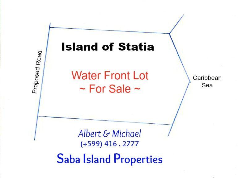 Island of Statia Land for Sale Albert & Michael Saba Island Properties