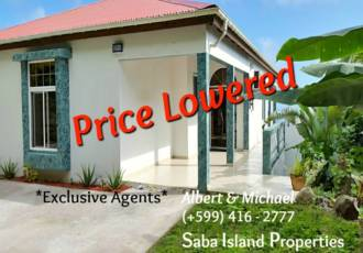 Hell's Gate Home- For Sale - Albert & Michael - Saba Island Properties