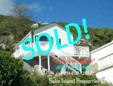 Diana's Cottage - Saba - Sold - Albert & Michael Saba Island Properties