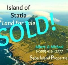 Statia Land SOLD - Albert & Michael - Saba Island Properties (+599) 416 2777