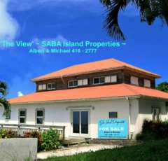 The View For Sale - Albert & Michael - Saba Island Properties