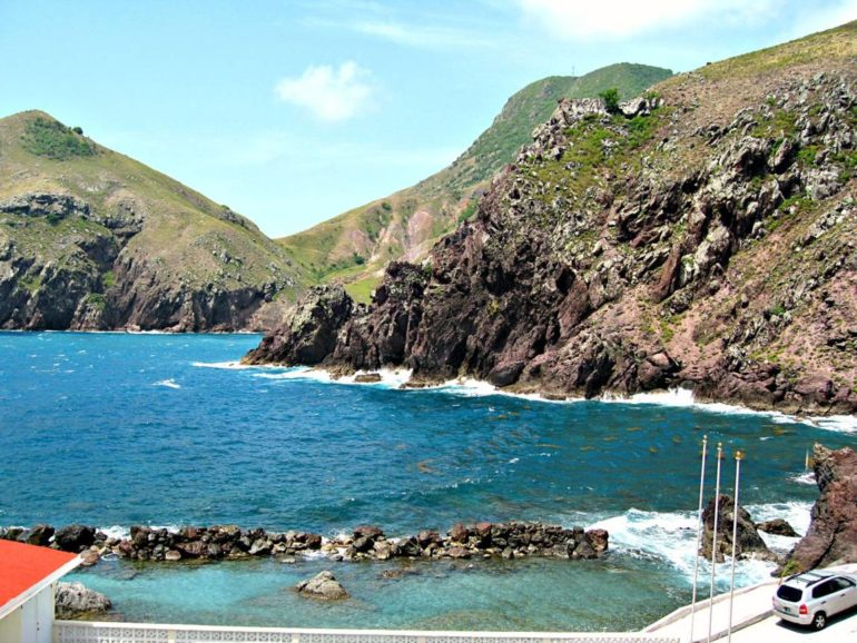 Cove Bay Saba Dutch Caribbean