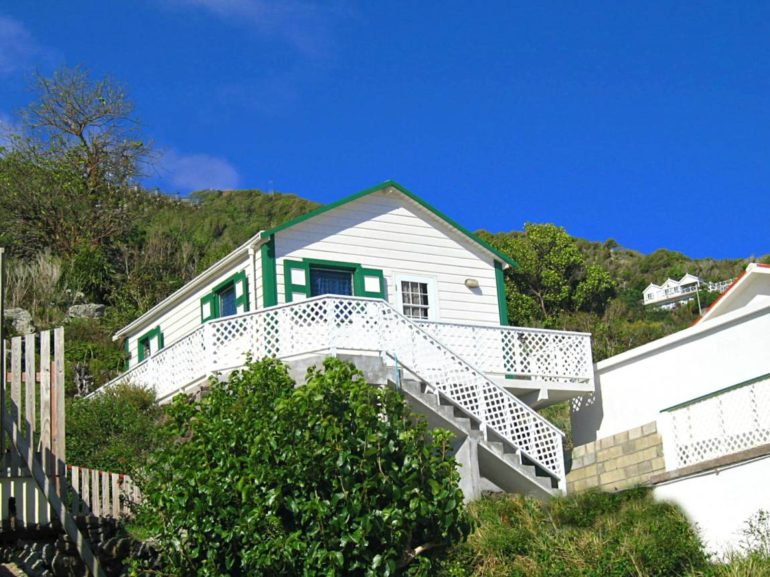 Diana's Cottage Lower Hell's Gate Saba - For Sale Albert & Michael Saba Island Properties