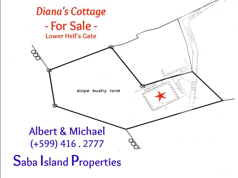 Diana's Cottage Lower Hell's Gate Albert & Michael Saba Island Properties