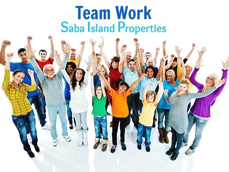 Team Work Saba Island Properties - Albert & Michael