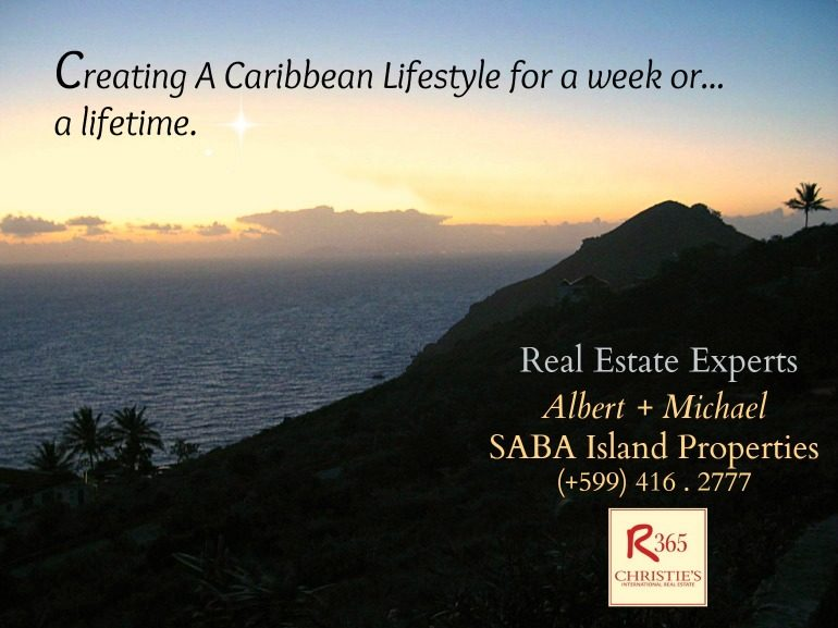 What Is a Caribbean Lifestyle> Albert & Michael - Saba Island Properties