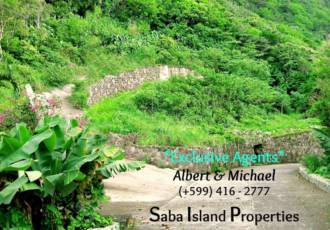 Mt. Scenery 2 Ready to Buils Lots For Sale - Albert & Michael - Saba Island Properties