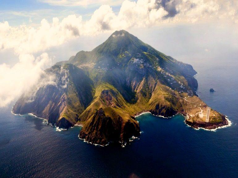 Saba Dutch Caribbean Island