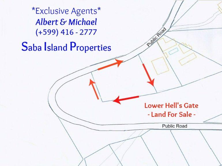 Saba Airport Map