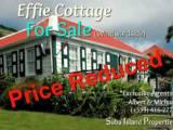 Effie Cottage For Sale Windwardside - Albert & Michael - Saba Island Propertes