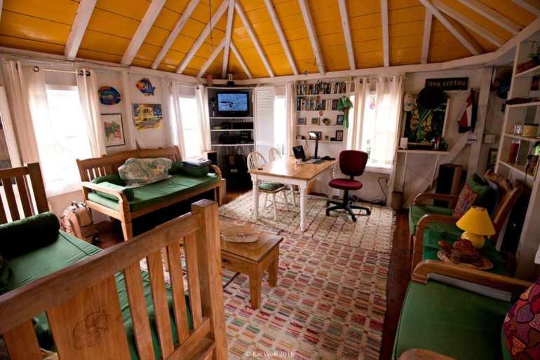 Effie Cottage For Sale Saba - Albert & Michael - Saba Island Properties (+599) 416 - 2777