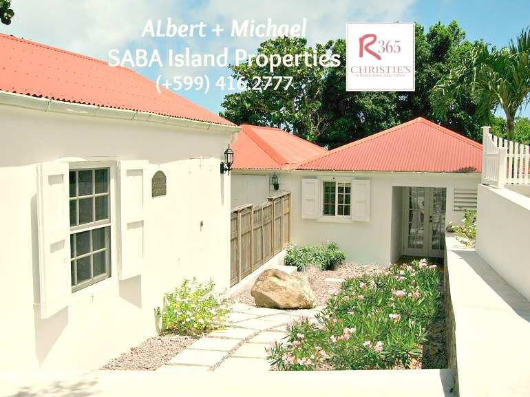Tulla's Cottage - Albert & Michael - Saba Island Properties 416 . 2777