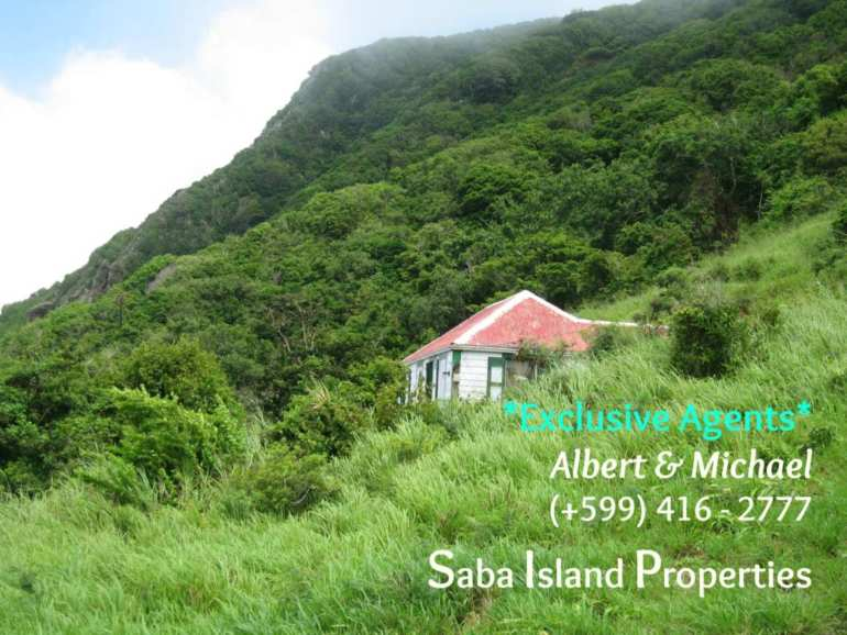 Peak Hill Cottage For Sale - Albert & Michael - Saba Island Properties
