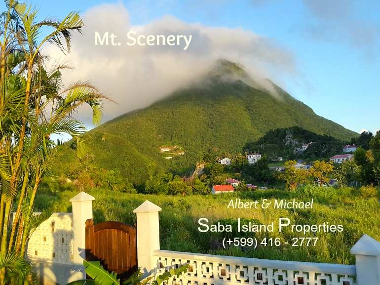 Mt. Scenery - Albert & Michael - Saba Island Properties
