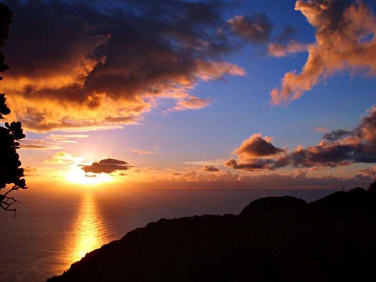 Sunrise on Saba