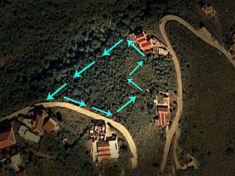 Lower Hell's Gate Land For Sale - Albert & Michael - Saba Island properties 416 - 2777