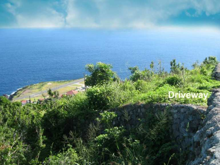 LowerHell's Gate Land For Sale - Albert & Michael - Saba Island Properties 416 - 2777
