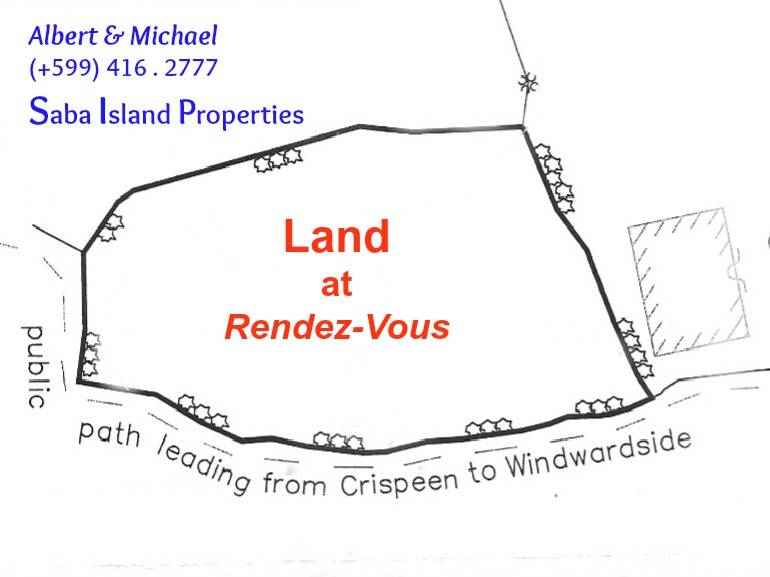 Land at Rendez-Vous - Albert& Michael - Saba Island Properties