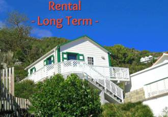 Suann's Cottage - Long Term Rental - Albert & Michael - Saba Island Properties