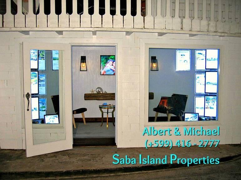 Albert & Michael - Saba Island Properties - Our New Shop