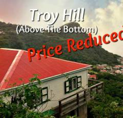 Troy Hill Villa - For Sale - Albert & Michael - Saba Island Properties