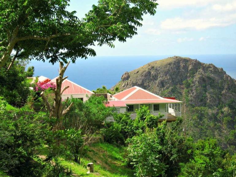 Champagne Cottage - For Sale - Albert & Michael - Saba Island Properties - Exclusive Agents