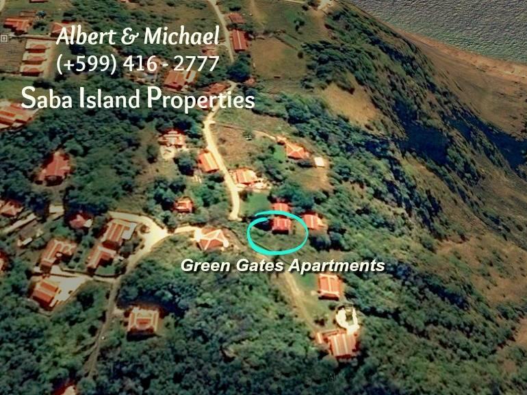 Green Gates - Albert & Michael - Saba Island Properties