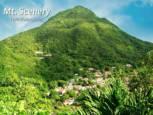 Mt. Scenery Windwardside Saba - Albert & Michael - Saba Island Properties