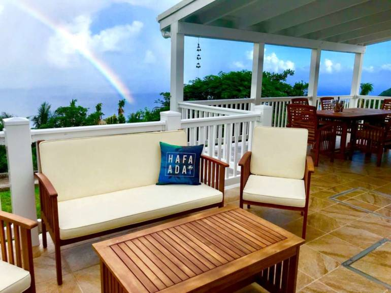 Cloudbreak Villa - Vacation Rental - Albert & Michael - Saba Island Properties