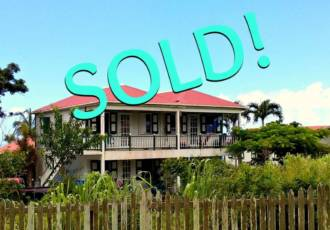 Green Gates Apartment Building -SOLD- Albert & Michael - Saba Island Properties