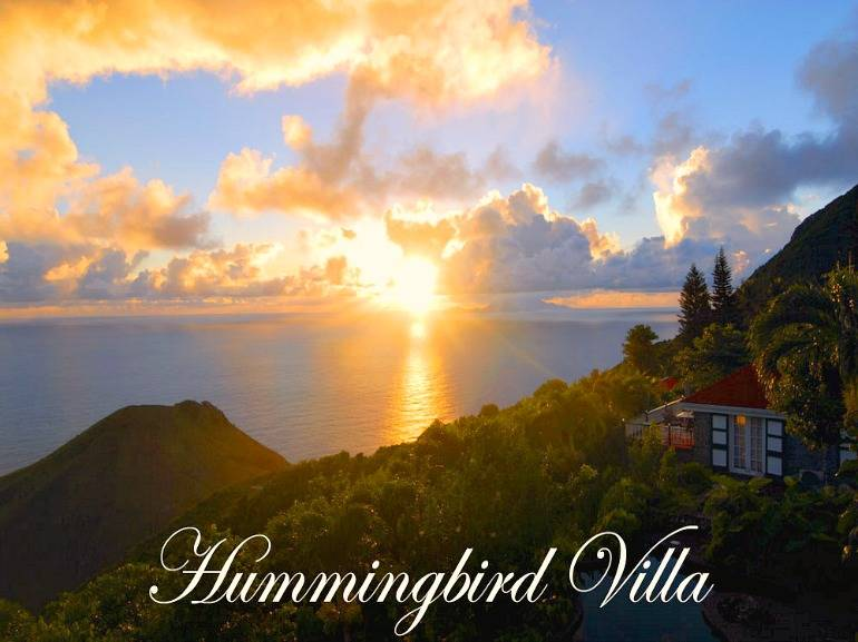 Hummingbird Villa - For Sale - Albert & Michael - Saba Island Properties