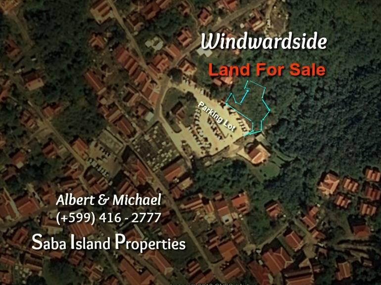 Windwardside Land For Sale - Albert & Michael - Saba Island Properties