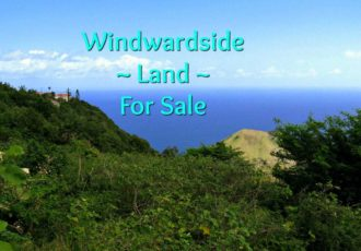 Windwardside Land - For Sale - Albert & Michael - Saba Island Properties