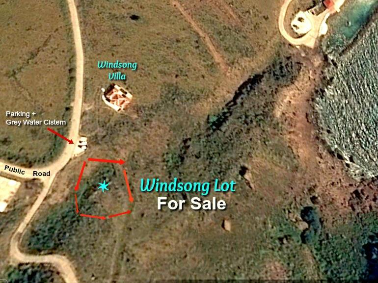 Windsong Lot - For Sale - Albert & Michael - Saba Island Properties - Exclusive Agents