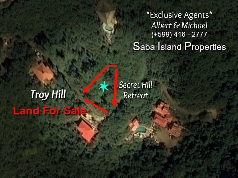 Secret Hill Retreat - For Sale on Try Hill - Albert & Michael - Saba Island Properties