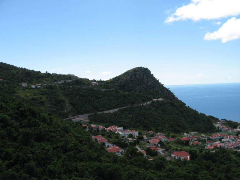 Secret Hill Retreat - Land For Sale - Albert & Michael - Saba Island Properties
