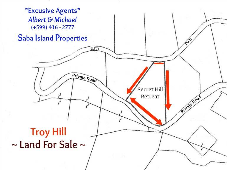 Secret Hill Retreat - For Sale - Albert & Michael - Saba Island Properties