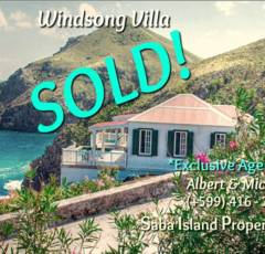 Windsong Villa - Sold - Albert & Michael - Saba Island Properties