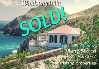 Windsong Villa - Sold - Albert & Michael - Saba Island Properties